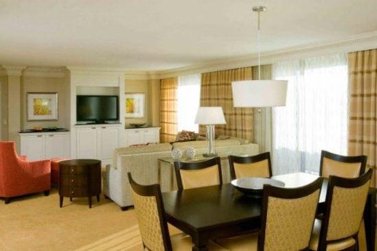 Hanover Marriott suite