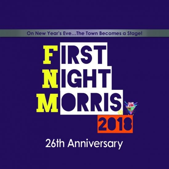 first night morris 2018 signage