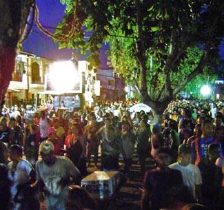Carnaval na Rua da Gamboa do Morro de São Paulo