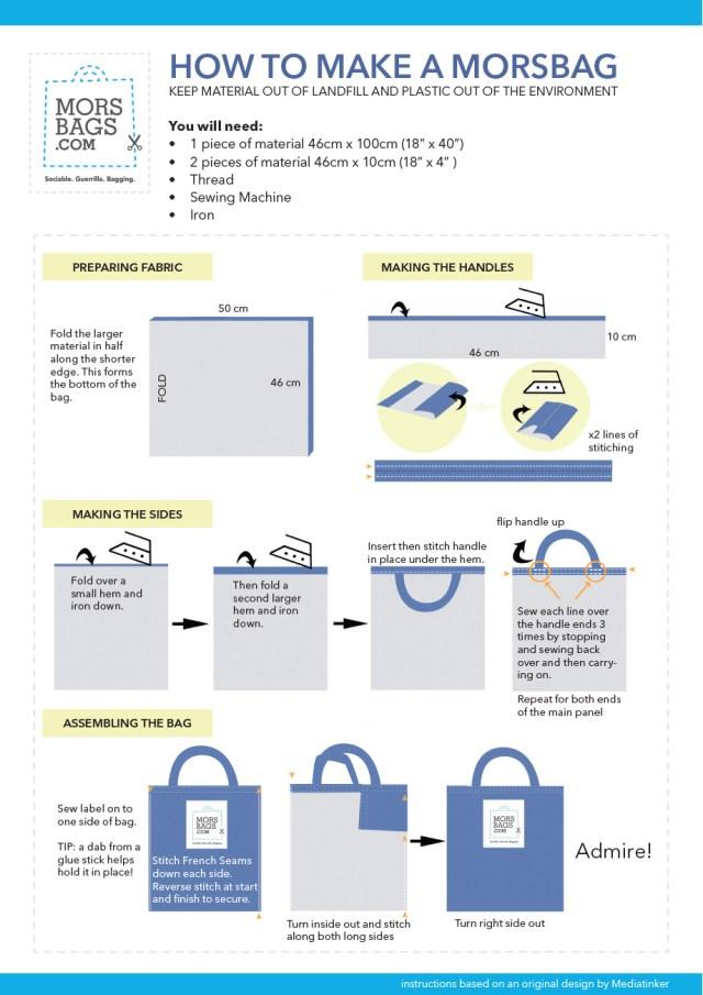 Morsbags Instructions