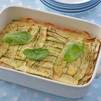 Parmigiana estiva di zucchine in bianco