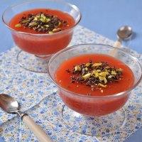 Gelo di anguria (gelo di melone) alla siciliana