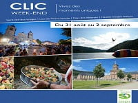 Clic Week-end du 21 au 23 décembre