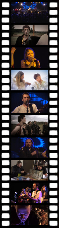 Des extraits du vidéo clip.