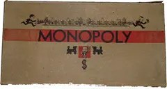 Monopoly Darrow 1934 Game Box