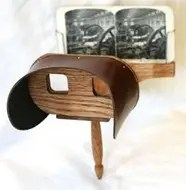 Antique Stereoscopic Glasses