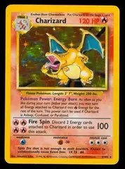 Charizard Pokemon trading card