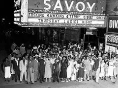 The Savoy Ballroom in Harlem, New York