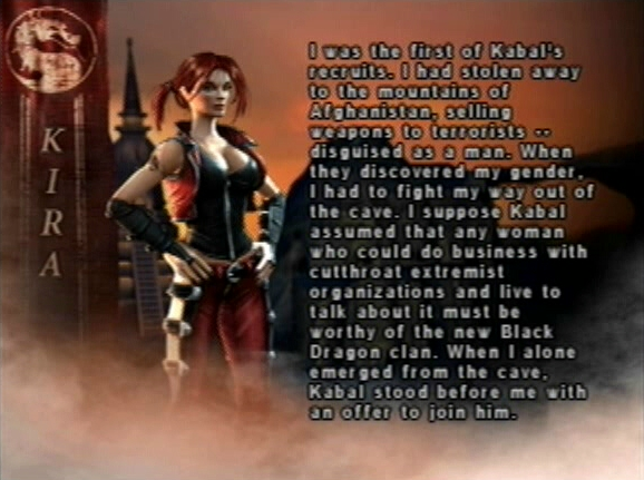 MKWarehouse Mortal Kombat Deception Kira