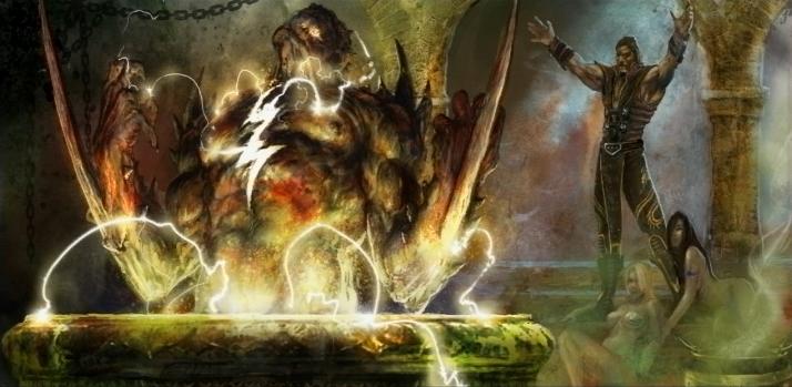 MKWarehouse Mortal Kombat vs DC Universe Shang Tsung