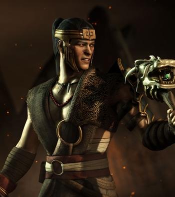Wallpaper Predator 3d Mkwarehouse Mortal Kombat X Kung Jin