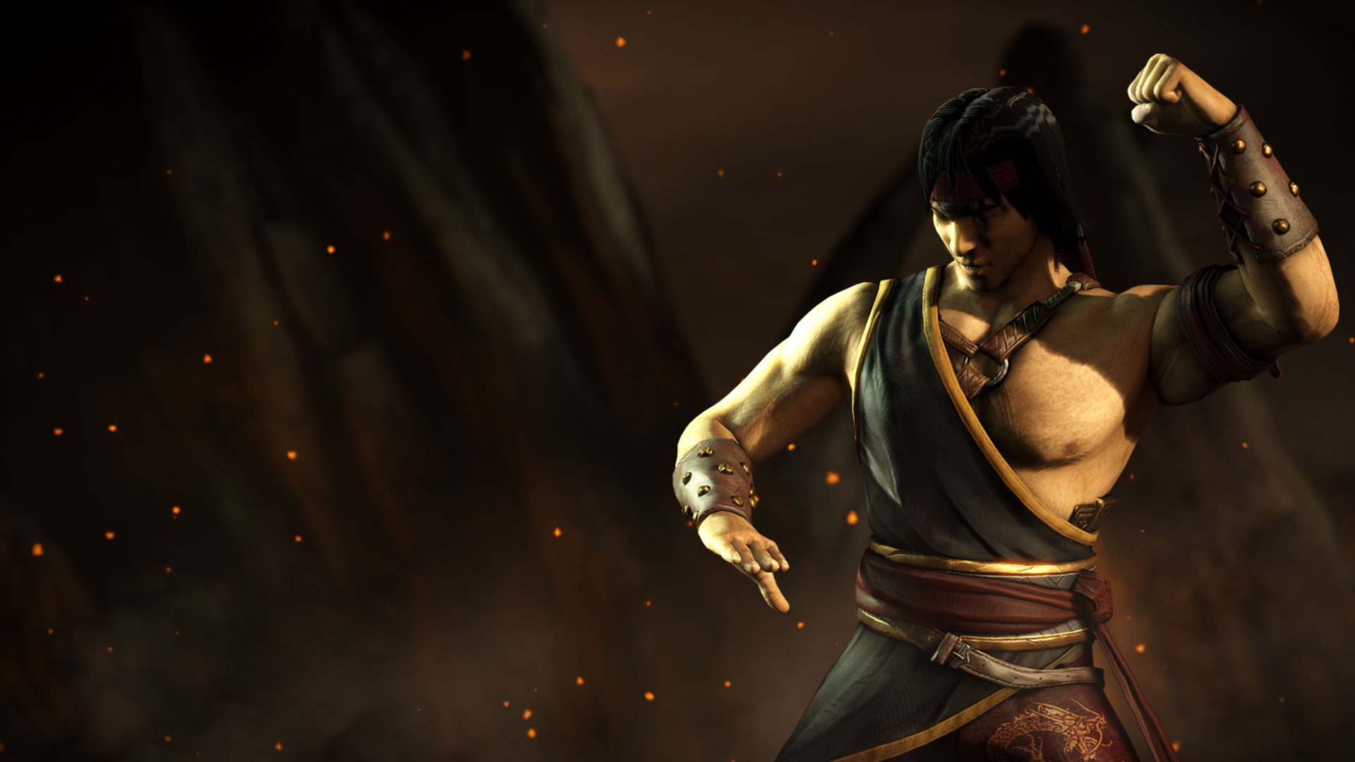 Hd Wallpaper Pack Mkwarehouse Mortal Kombat X Liu Kang