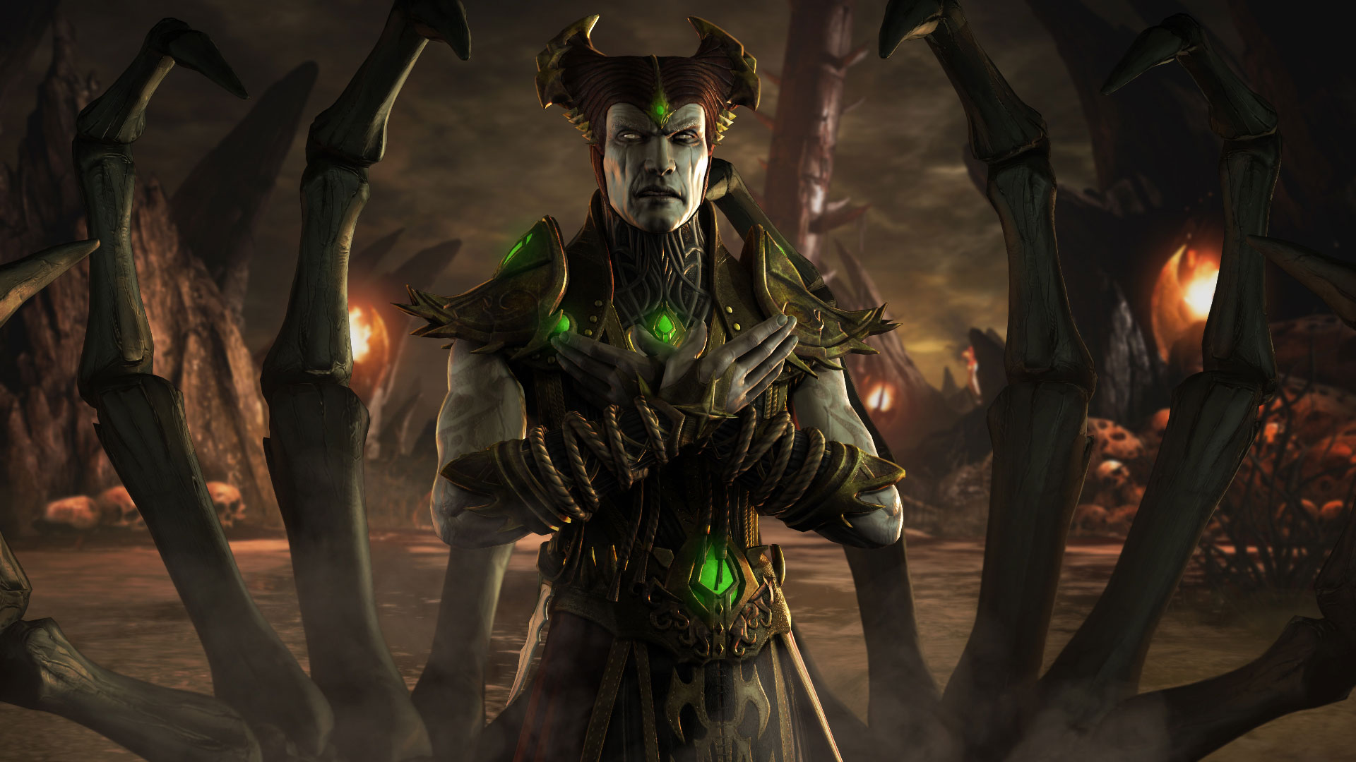 Wallpaper Iphone X Full Hd Mkwarehouse Mortal Kombat X Shinnok