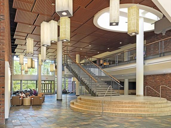 Bethel University George K Brushaber Commons | Mortenson