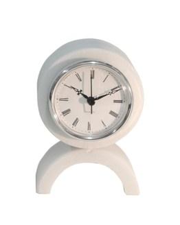 reloj circular mármol blanco Macael