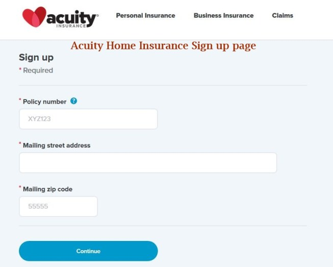 Acuity Home Insurance Login