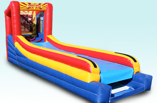 Giant Inflatable Skee-ball
