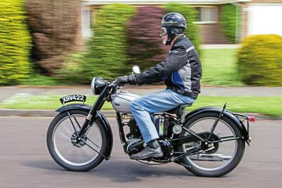 The C11 is happy to 'trundle along' at 45mph for mile, after mile, after mile…