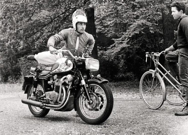 MV Four breaks cover September 1965