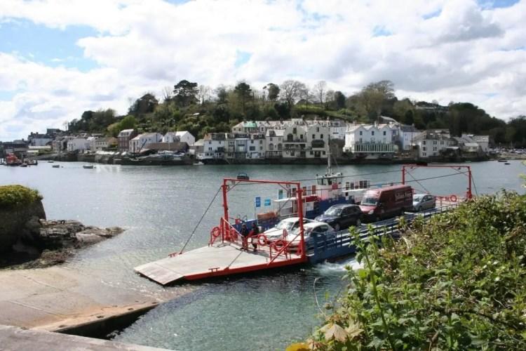 Cross-channel giant it ain't – the Fowey ferry (sorry, land bridge)