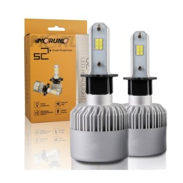 H3 LED HEADLIGHT CONVERSIONS S2 CSP 8000 LUMENS 6000K MORUMO