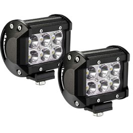 FLOOD BEAM 4″ 6 LED LED BAR WHITE MORUMO