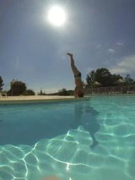Am Pool von Rondinara