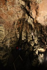 In der Samograd Höhle