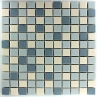 Ceramic Mosaic Tiles Blue Mix