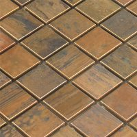 Copper Mosaic Tile | Tile Design Ideas