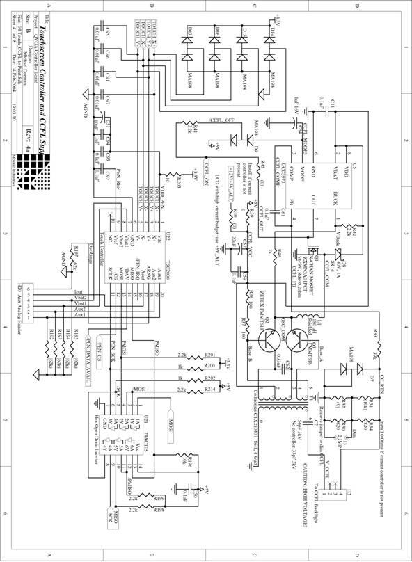 Appendix D: QVGA Schematics
