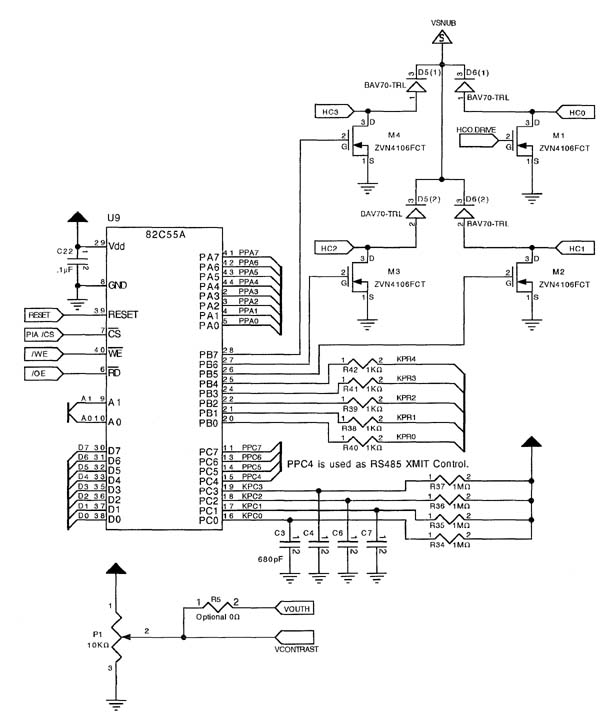 Microcontroller and Single Board Computer Schematics