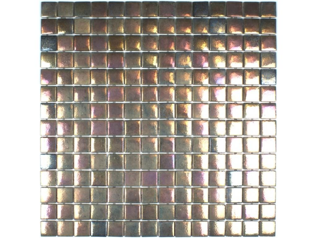 lipari iridescent glass mosaic
