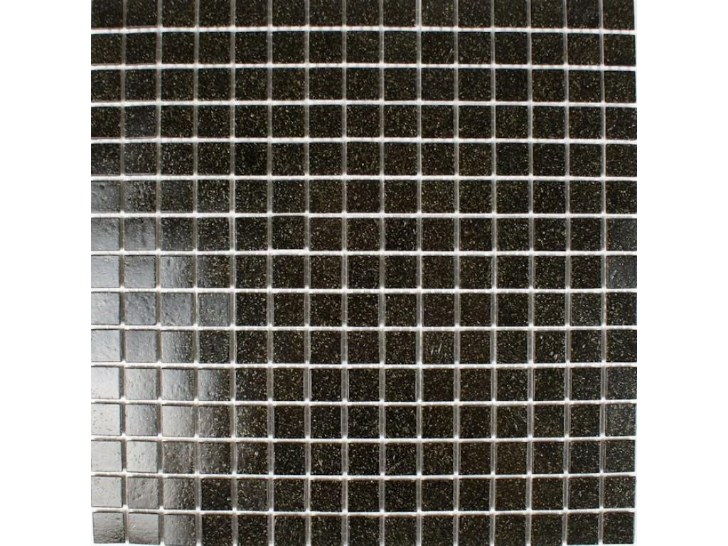 classic glass mosaic black