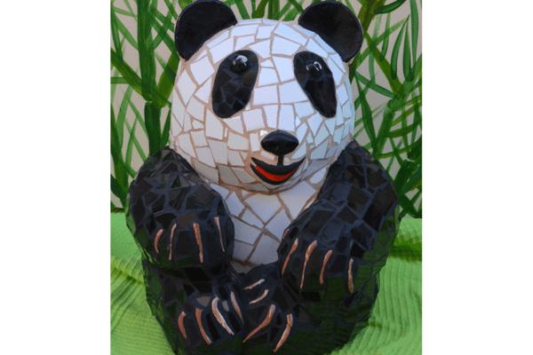 Baby Panda, 25cm x 18cm,  8kg.