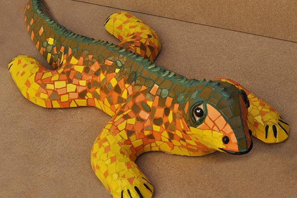 Dragon,  80cm x 63cm, 30kg.