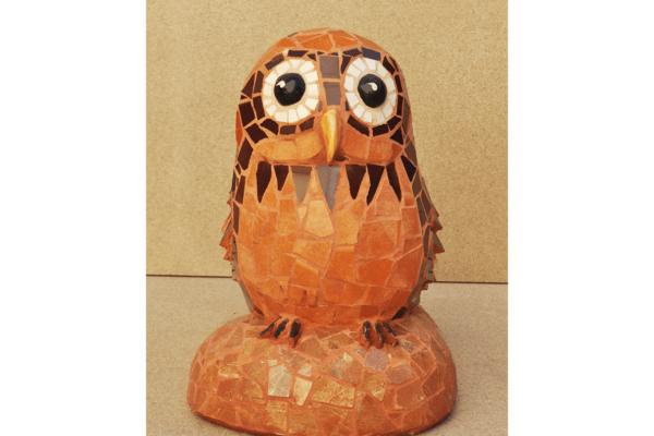 Owl, 28cm x 22cm, 9kg.