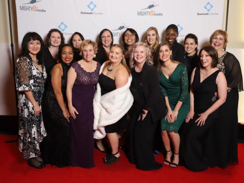 foto del equipo en la Gala Gala 2020