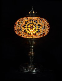 TABLE LAMP,MOSAIC GLASS, TURKISH LAMP