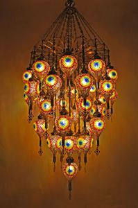 Mosaic Chandeliers