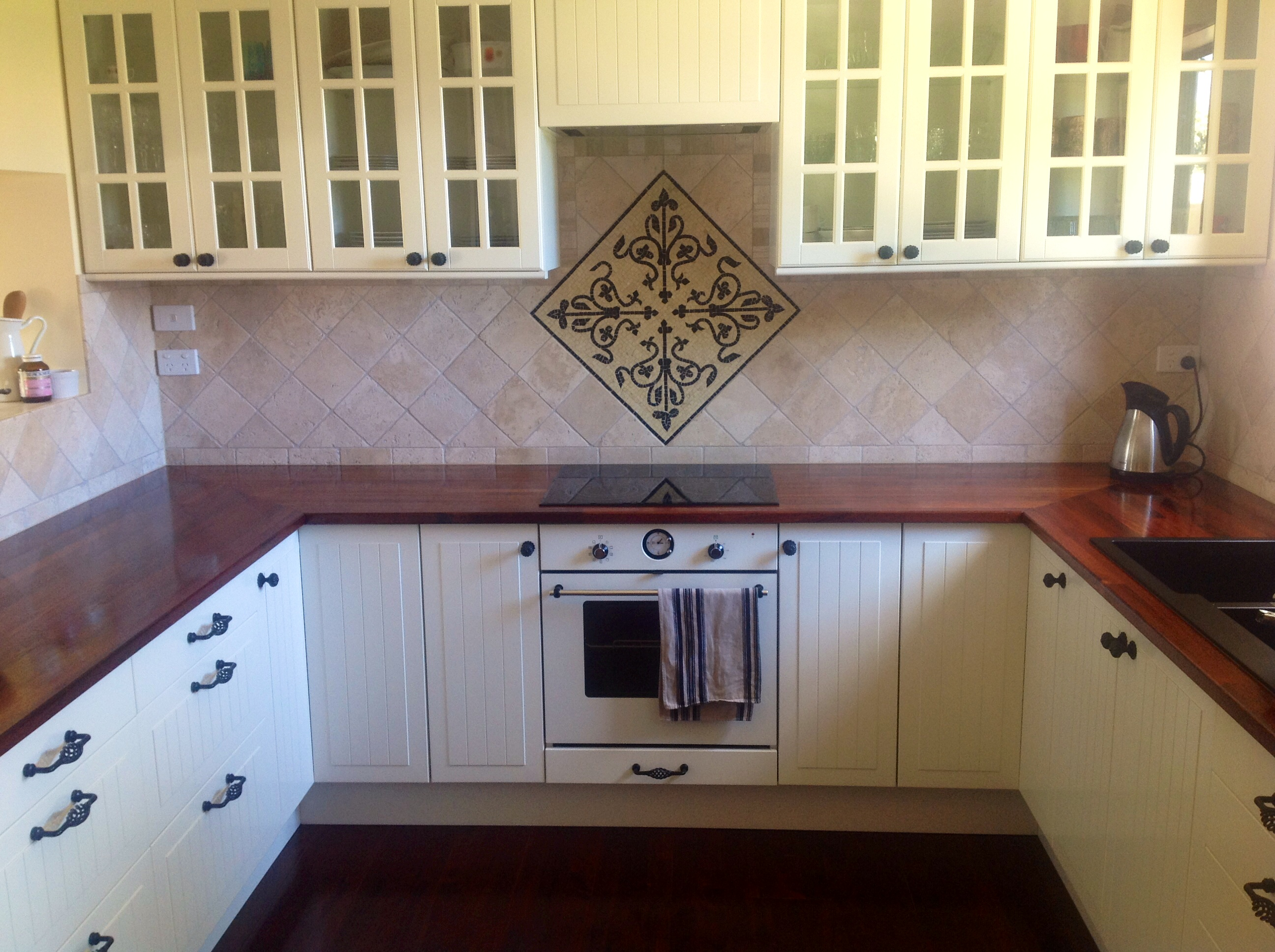 how to decorate your kitchen types of flooring the best way mosaic backsplashes