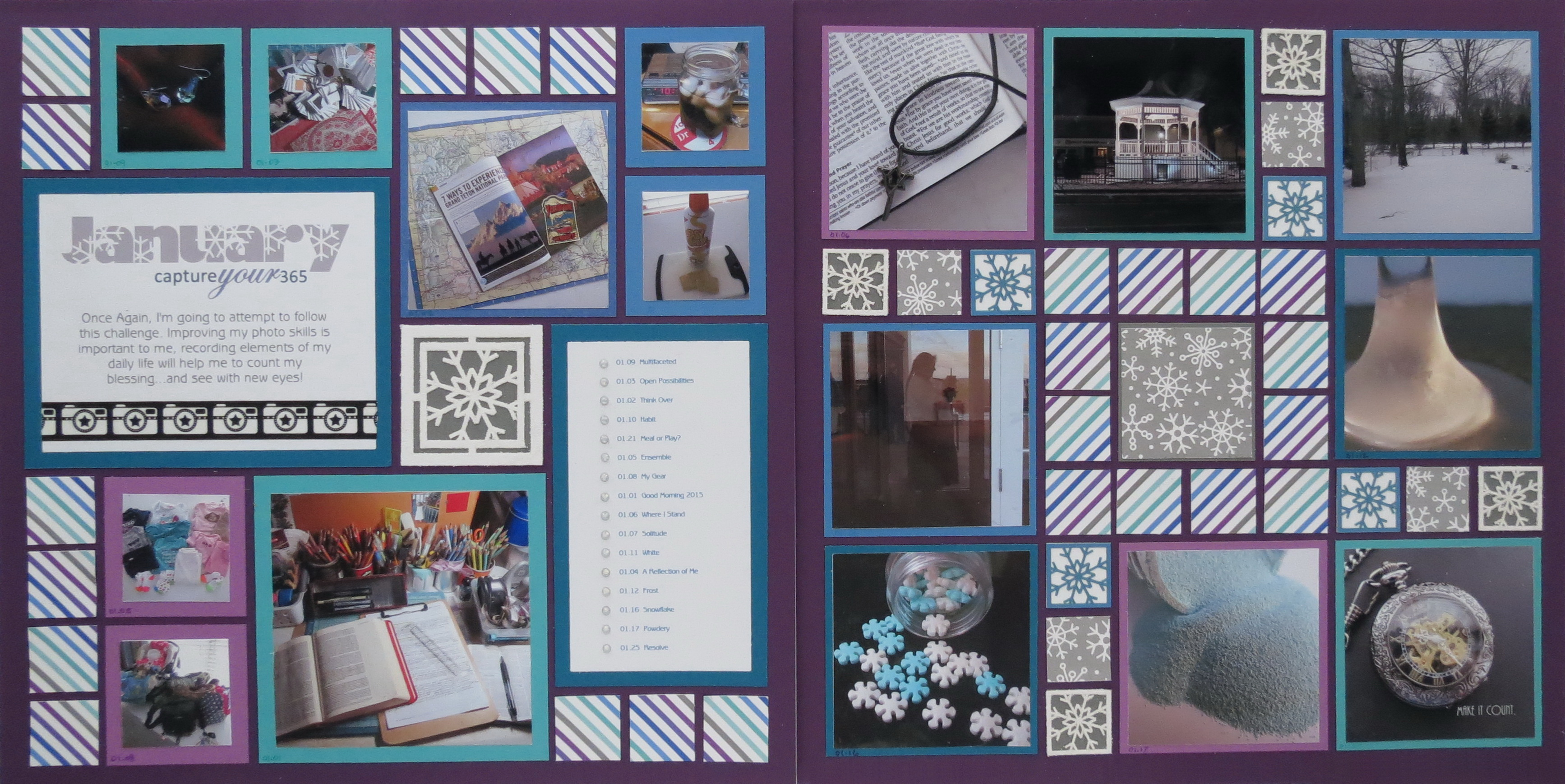 Scrapbooking Your Random Photos  Mosaic Moments Photo