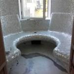 sauna in mosaico