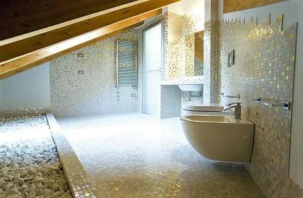 Bagni in mosaico Bisazza Trend Sicis  Atzori mosaici
