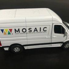 The Mosaic van