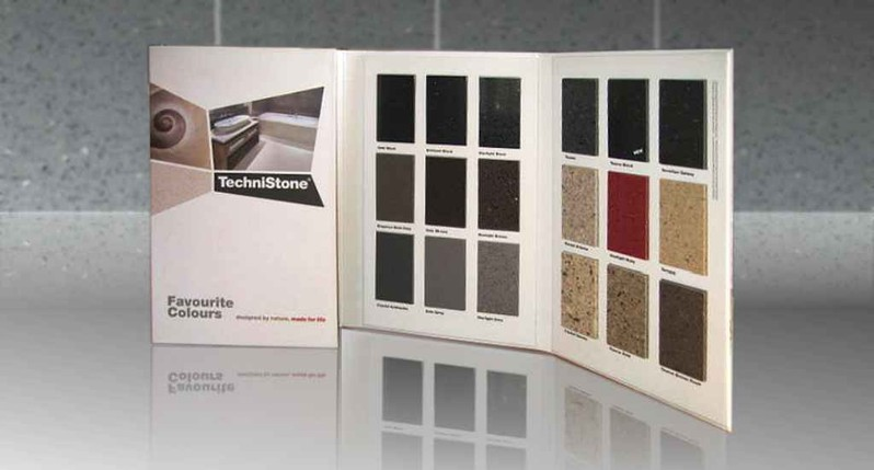 Production of samples and sample books for the stone and ceramics producers  Stone products