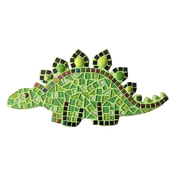 mozaïek dino, mosaic dinosaur