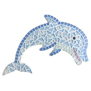 mozaïekpakket dolfijn, mosaic dolphin