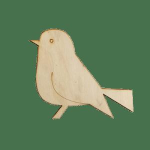 vogel ondergrond mozaïek