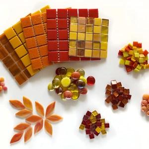 Fire-kleurpakket mozaïek